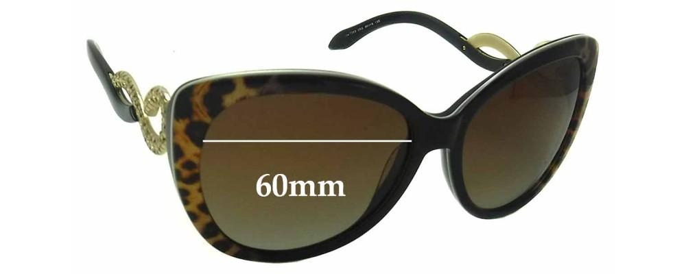 Roberto Cavalli Kurumba 736S Replacement Sunglass Lenses - 60mm wide