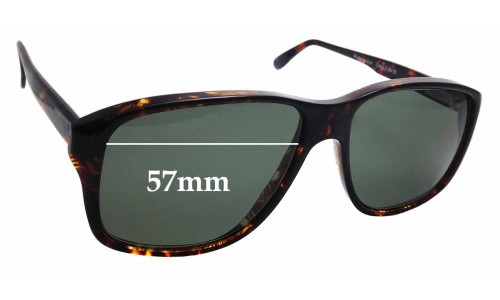 Sunglass Fix Replacement Lenses for Rodenstock Craig S -57mm wide