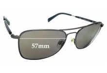Sunglass Fix Replacement Lenses for Rodenstock R 1415 - 57mm Wide