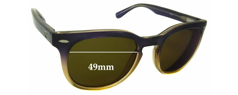 Sunglass Fix New Replacement Lenses for Roxy Sun Rx 14 - 49mm Wide