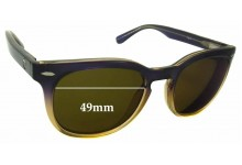 Roxy Sun Rx 14 Replacement Sunglass Lenses - 49mm wide