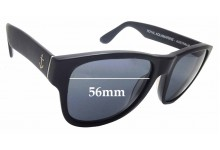 Sunglass Fix Replacement Lenses for Royal Aquamarine Rockefeller - 56mm wide