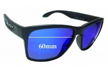 Sunglass Fix Replacement Lenses for Rudy Project Spin Hawk SP31 - 60mm wide