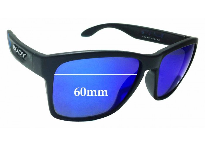 SFX Replacement Sunglass Lenses fits Rudy Project Hyde 66mm Wide