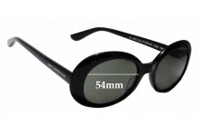 Sunglass Fix Replacement Lenses for Saint Laurent California SL 98 Surf  - 54mm wide