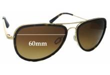 Sunglass Fix Replacement Lenses for Salt Goodwin - 60mm wide