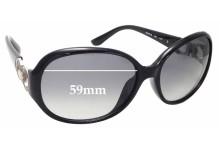 Sunglass Fix Replacement Lenses for Salvatore Ferragamo SF601S - 59mm wide
