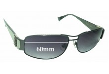 Sama Loree Rodkin Eye Couture Chad Replacement Sunglass Lenses - 60mm wide
