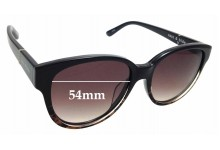 Sunglass Fix New Replacement Lenses for Sass & Bide Kudu Lily - 54mm Wide