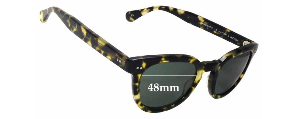 Saturdays Adrian Replacement Sunglass Lenses - 48mm wide