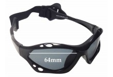 SeaSpecs Classic Jet Specs Replacement Sunglass Lenses - 64mm wide
