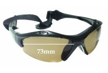 Sunglass Fix Replacement Lenses for SeaSpecs Iguana - 73mm wide