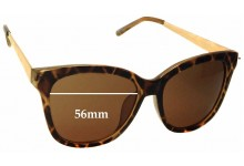 Sunglass Fix New Replacement Lenses for Seed Heritage Melanie - 56mm Wide