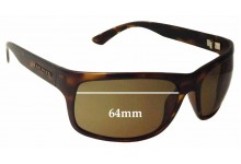 Sunglass Fix Replacement Lenses for Serengeti Pistoia - 64mm wide