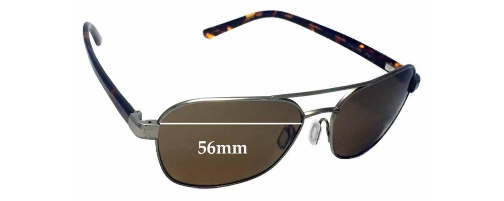578418b8d3fa0 Serengeti Volterra Replacement Sunglass Lenses- 56mm wide