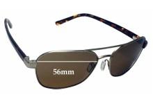 Sunglass Fix Replacement Lenses for Serengeti Volterra - 56mm wide