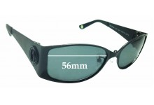 Sunglass Fix New Replacement Lenses for Shanghai Tang 8051 - 56mm Wide