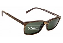 Sunglass Fix Replacement Lenses for Shout! 16S6P - 52mm Wide