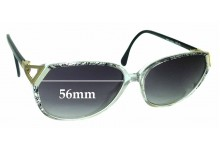 Sunglass Fix New Replacement Lenses for Silhouette M 1731 - 56mm Wide