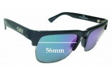 Sunglass Fix Replacement Lenses for Sin Amped - 56mm wide