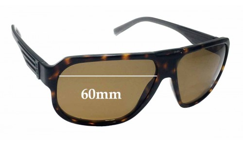 Smith Gibson Replacement Sunglass Lenses - 60mm wide