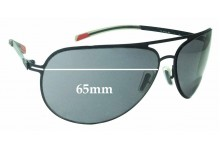 Sunglass Fix Replacement Lenses for Smith Showdown - 65mm Wide