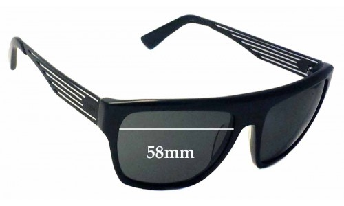 Smith Replacement Sunglass Lenses - 58mm wide - vented arms