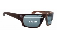 Solari 016 Replacement Sunglass Lenses - 68mm wide x 44mm tall