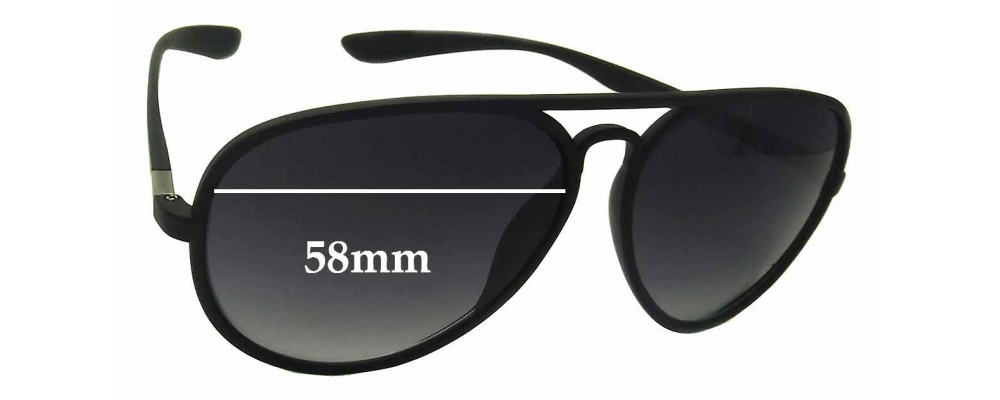 Soulcal & Co MF59 Replacement Sunglass Lenses - 58mm Wide