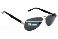 Sunglass Fix Replacement Lenses for Spec Savers Costa Brava Sun Rx - 58mm wide