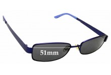 Sunglass Fix Replacement Lenses for Spec Savers Martina - 51mm wide