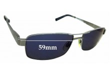 Sunglass Fix Replacement Lenses for Spec Savers Sun Rx 47 - 59mm wide