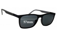 Sunglass Fix Replacement Lenses for Tommy Hilfiger / Specsavers TH Sun RX 31 - 57mm wide
