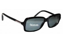 Sunglass Fix Replacement Lenses for Tommy Hilfiger / Specsavers TH Sun RX 02 - 56mm wide