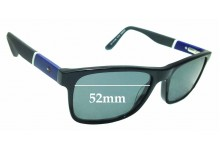 Sunglass Fix Replacement Lenses for Tommy Hilfiger / Specsavers TH 73 - 52mm wide