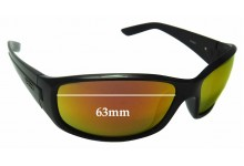 Spotters Combat Replacement Sunglass Lenses - 63mm wide