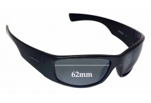 Spotters Coyote Replacement Sunglass Lenses - 62mm wide