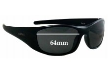 Spotters Pivot Replacement Sunglass Lenses - 64mm wide