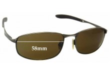 Spotters Shaft Replacement Sunglass Lenses - 58mm wide