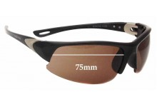 Spotters Static Replacement Sunglass Lenses - 75mm wide