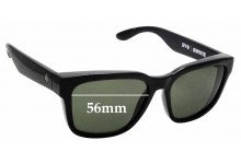 Sunglass Fix Replacement Lenses for Spy Optics Bowie - 56mm Wide