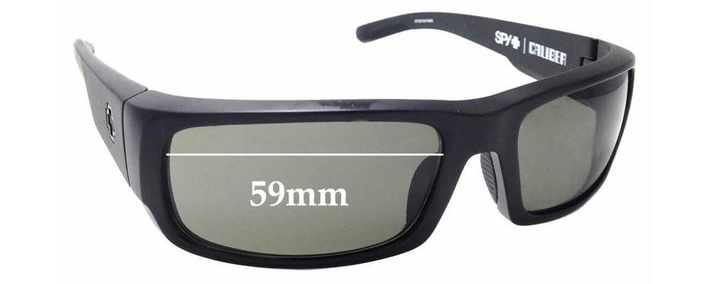 b99bf849d5f Sunglass Fix Replacement Lenses for Spy Optics Caliber - 59mm Wide ...