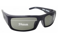 Sunglass Fix Replacement Lenses for Spy Optics Caliber - 59mm Wide