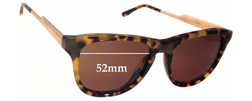 Stella McCartney SM4048 Replacement Sunglass Lenses - 52mm wide