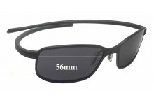 Tag Heuer TH 2004 Replacement Sunglass Lenses - 56mm Wide