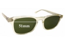 Sunglass Fix Replacement Lenses for Thierry Lasry Bully 995 - 51mm wide