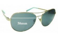 Sunglass Fix Replacement Lenses for Tiffany & Co TF 3051-B - 58mm wide