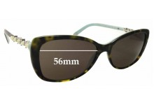 Sunglass Fix Replacement Lenses for Tiffany & Co TF4103-H-B - 56mm Wide