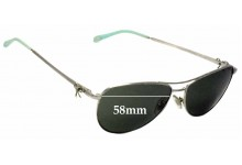 Tiffany & Co TF 3044 Replacement Sunglass Lenses - 58mm wide