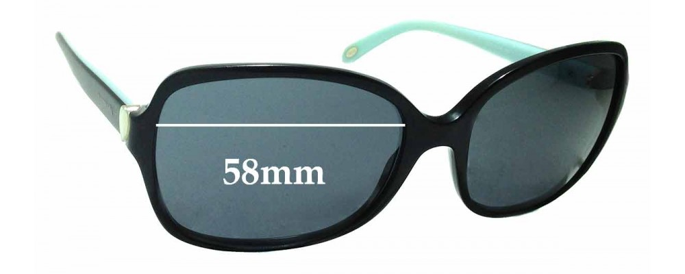 9c33d7c4780 Sunglass Fix Replacement Lenses for Tiffany   Co TF4085-H - 58mm Wide